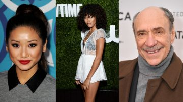 brenda song + Lex Scott Davis + F. Murray Abraham