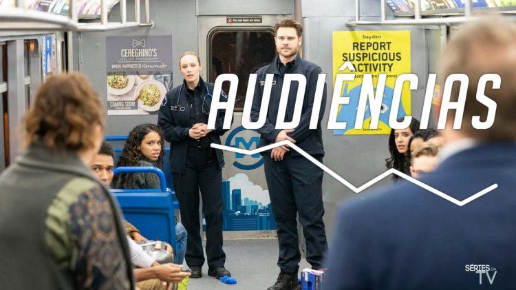Audiências Station 19 -2x10