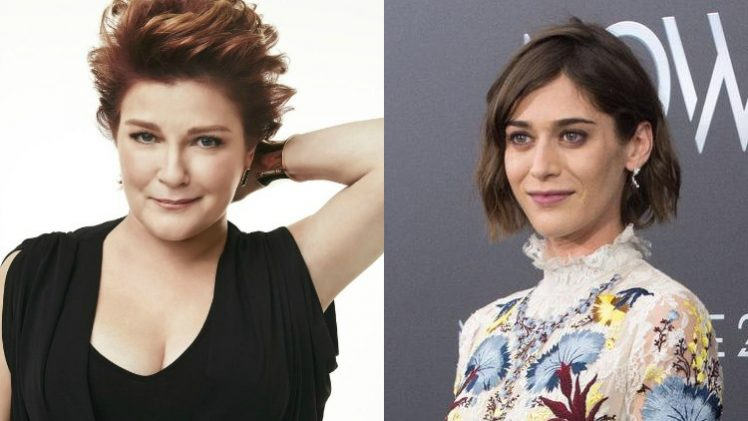 Kate Mulgrew + Lizzy Caplan