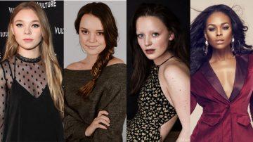 Taylor Hickson,Jessica Sutton, Amalia Holm e Demetria McKinney