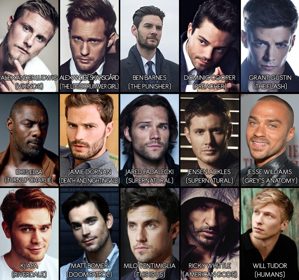 15 Finalistas homens