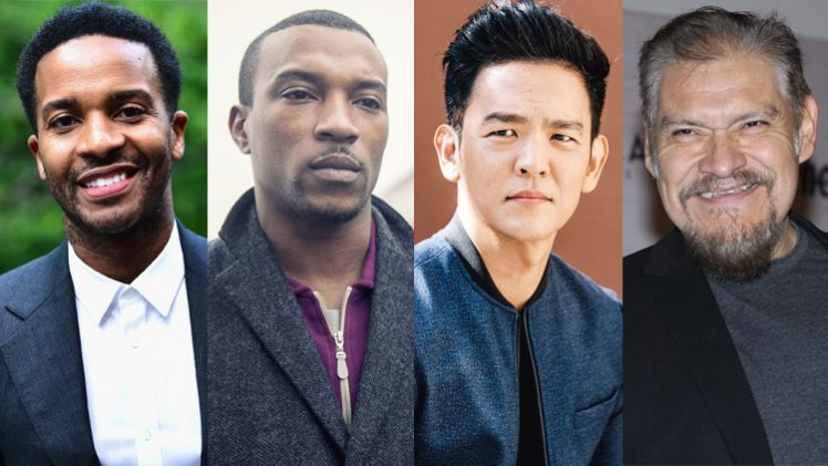 Andre Holland, Ashley Walters, John Cho e Joaquín Cosio