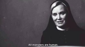 american horror story all monsters are human