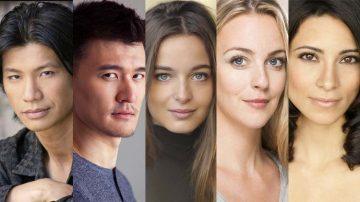 Dustin Nguyen, Chen Tang, Celine Buckens, Miranda Raison e Maria Elena Laas
