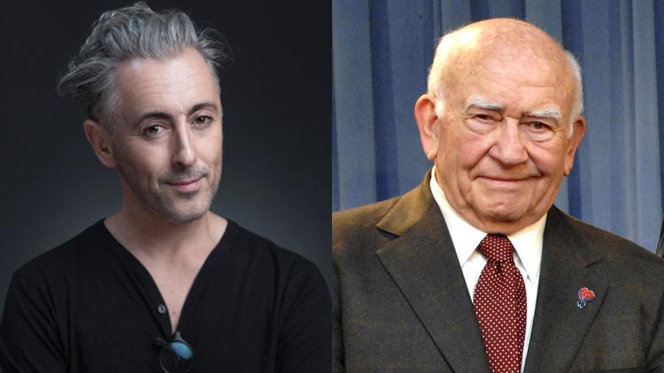 Alan Cumming, Ed Asner
