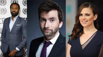 Nicholas Pinnock + David Tennant + Hayley Atwell