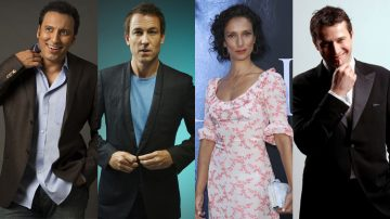 James Purefoy + Aasif Mandvi + Tobias Menzies + Indira Varma