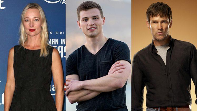 Kari Matchett + Darren Mann + Stephen Moyer