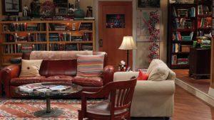 the big bang theory apartamento sheldon e leonard
