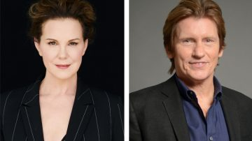 Elizabeth Perkins e Denis Leary