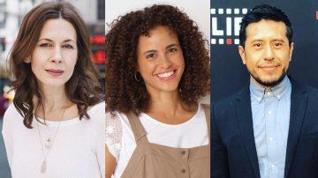 Jessica Hecht + Parisa Fitz-Henley + Eddie Martinez