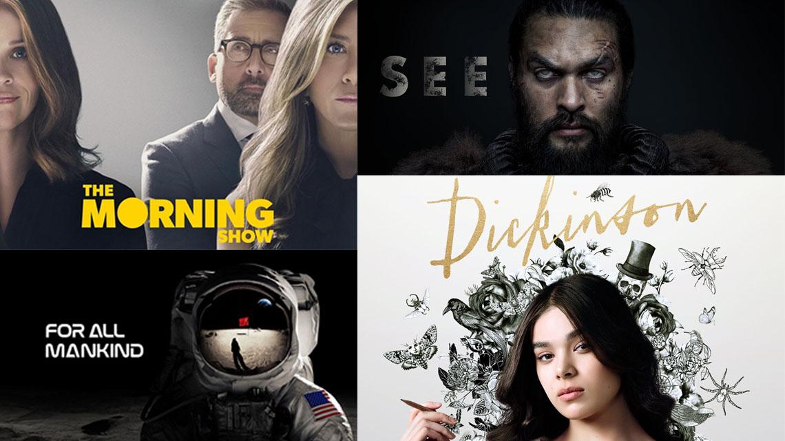 Resultado de imagem para Apple TV+ renova See, Dickinson, For All Mankind e mais séries para novas temporadas