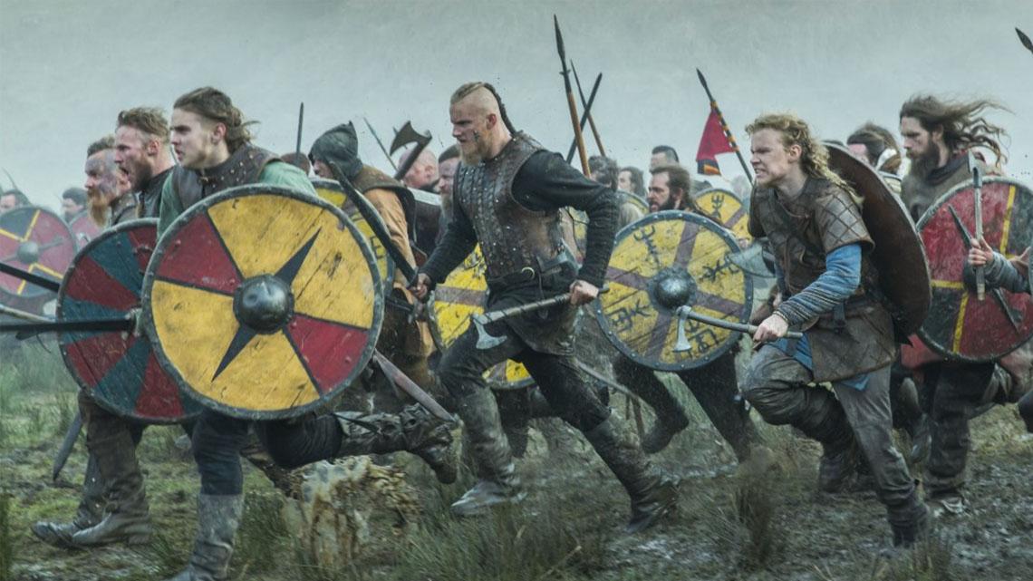 vikings amazon episódios