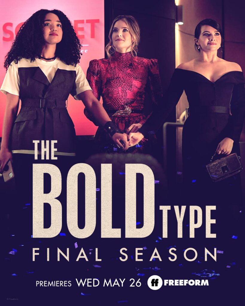 the bold type posters