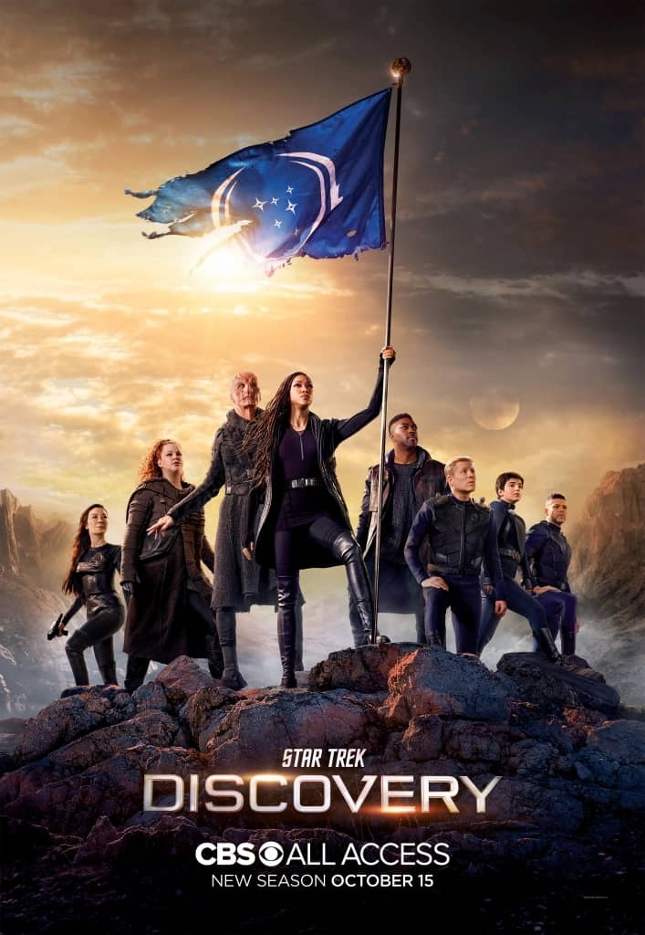 star trek discovery posters