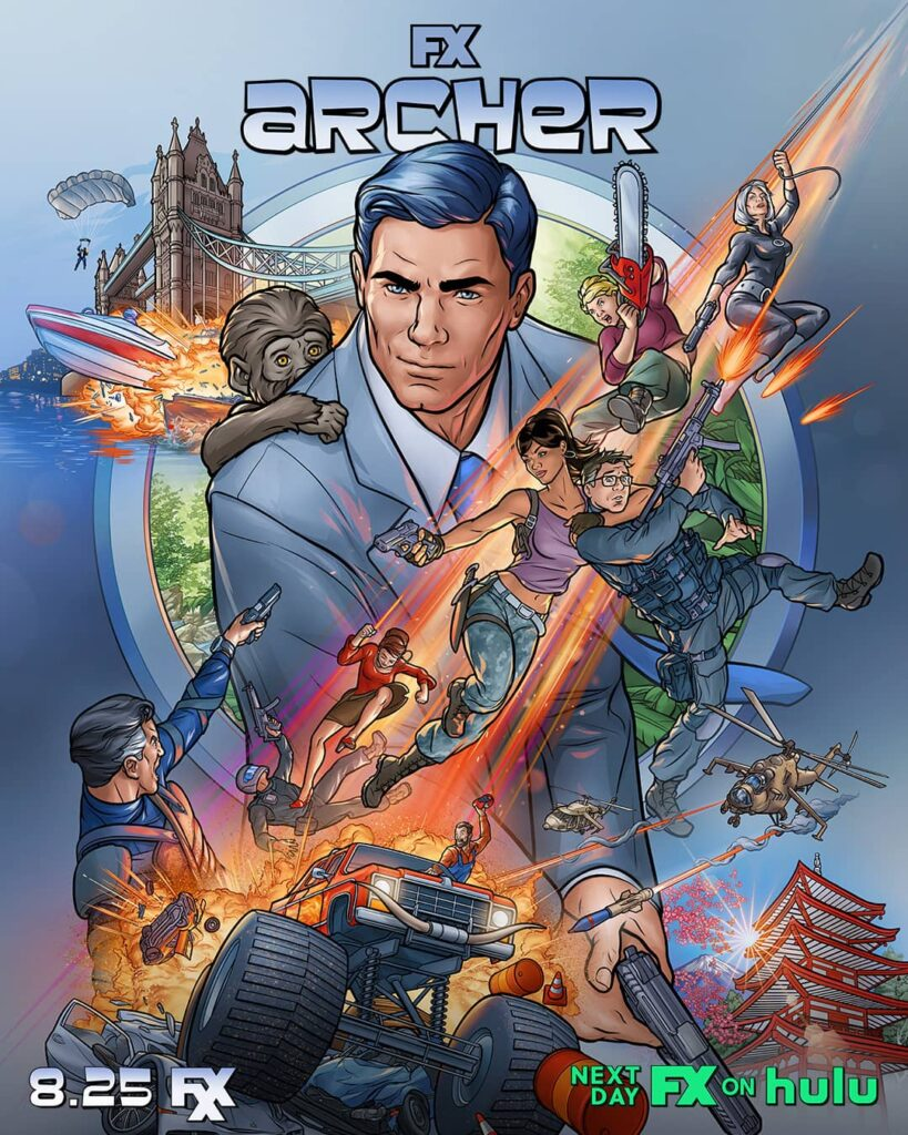 archer posters