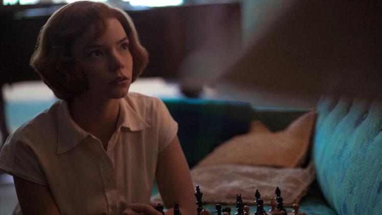 the queen's gambit vídeos posters