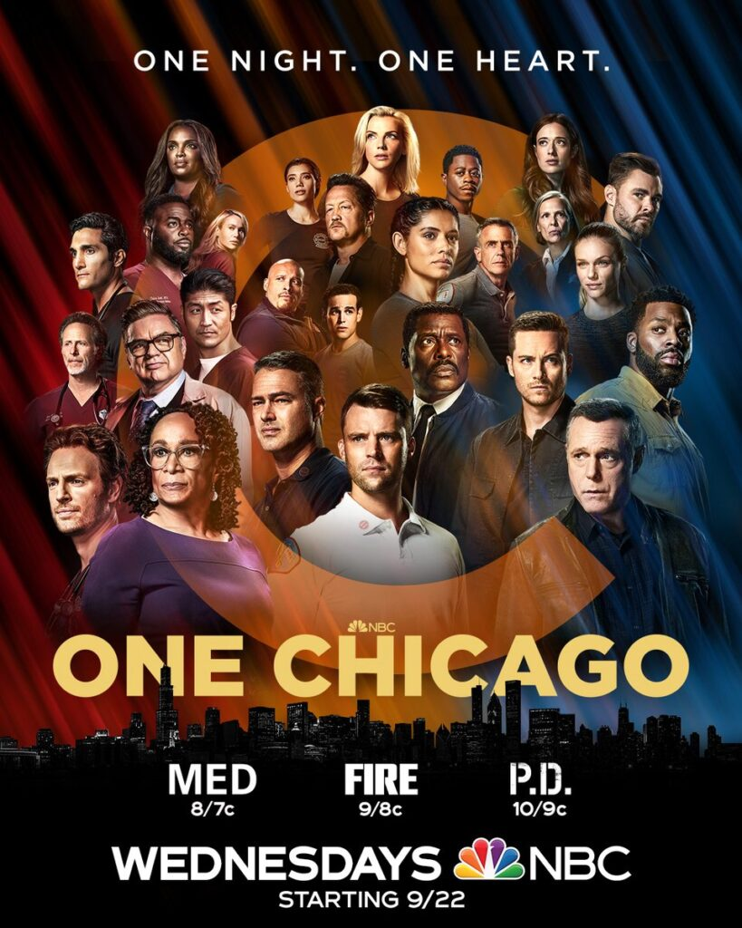 one chicago posters med fire pd