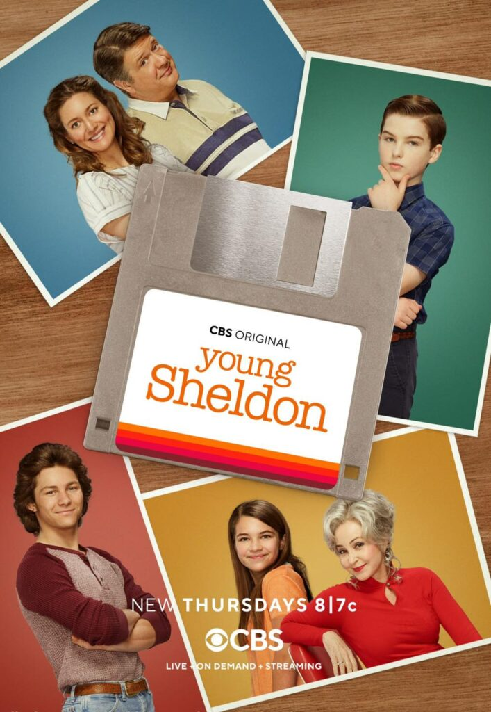 young sheldon posters
