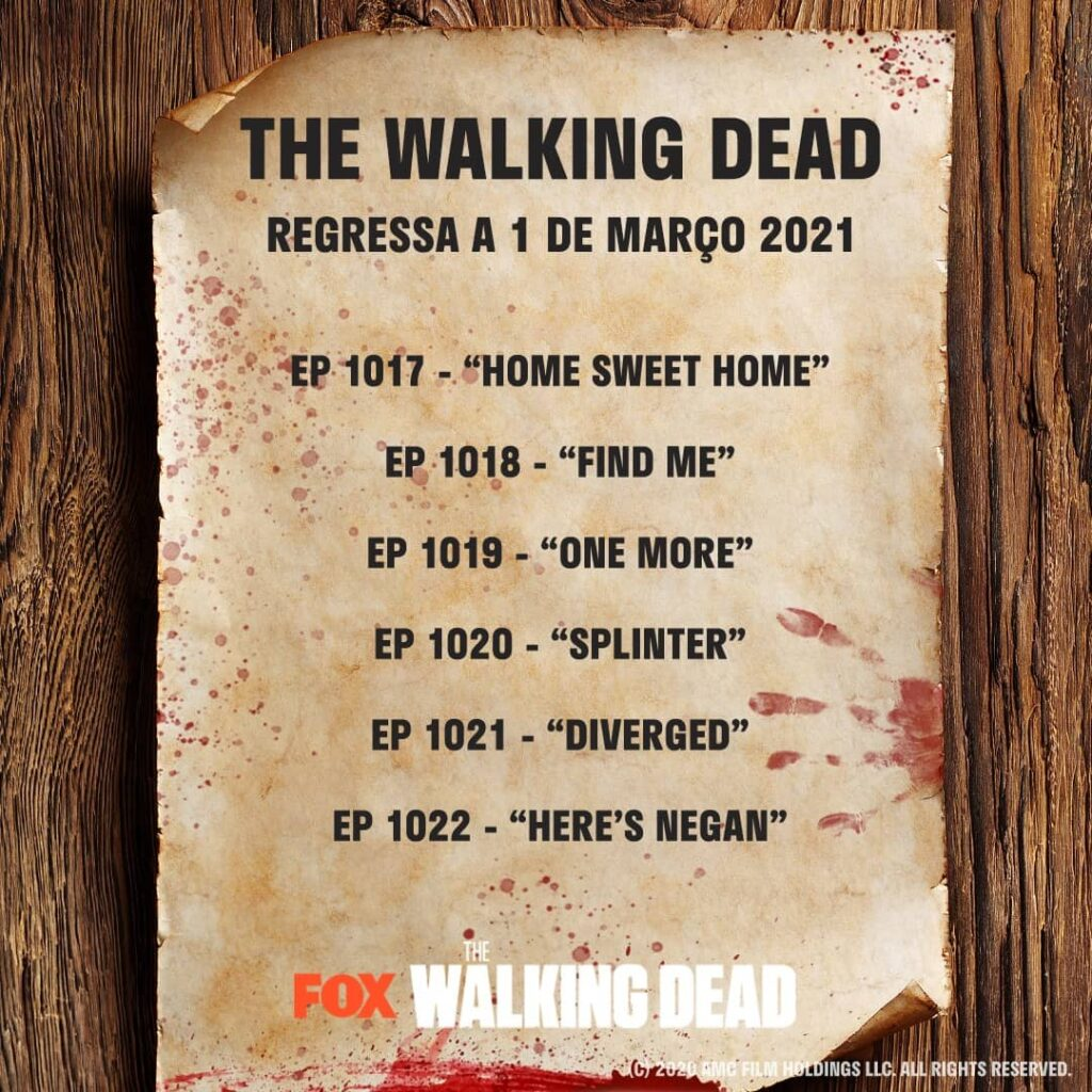 the walking dead episódios extra