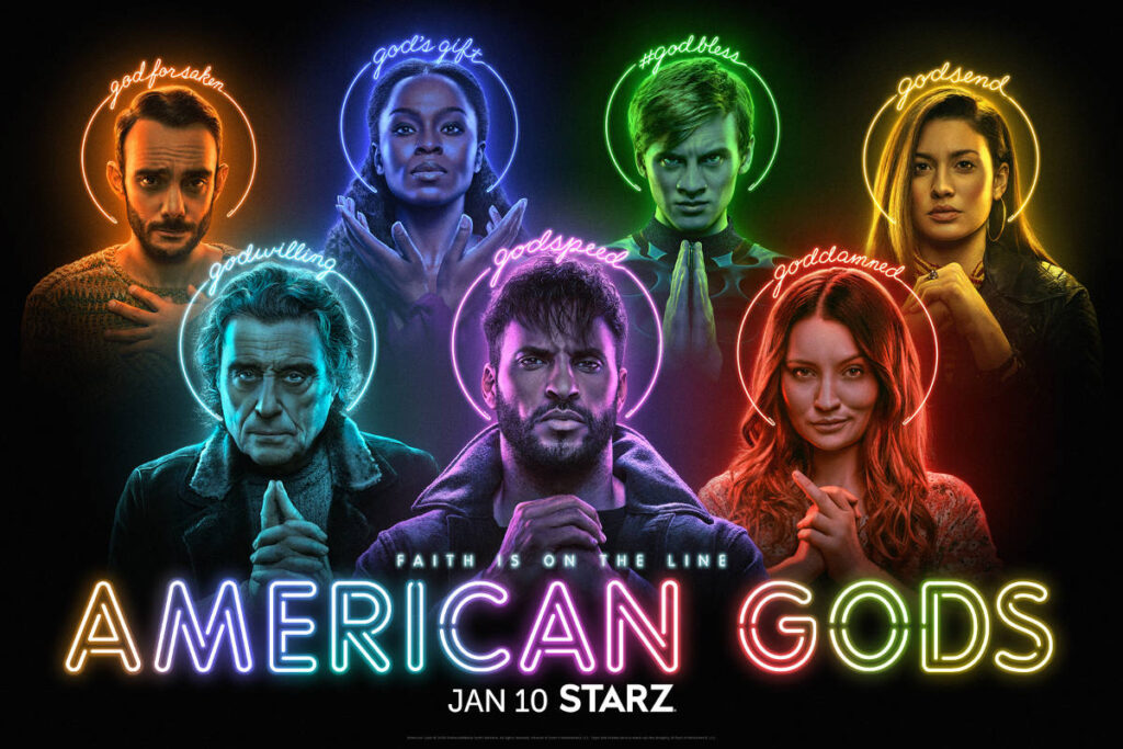 american gods posters