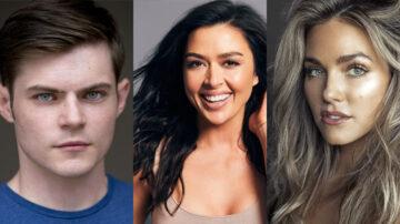 Chris Mason, Aliyah O'Brien, Rebekah Graf