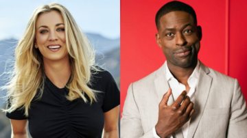 Kaley Cuoco, Sterling K. Brown