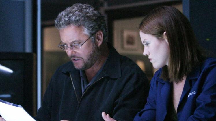 CSI Sara and Grissom