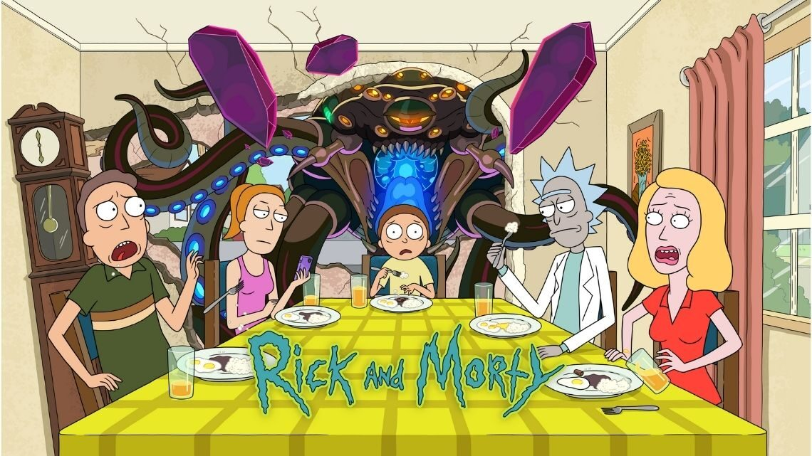 Rick and Morty 5ª Temporada hbo portugal