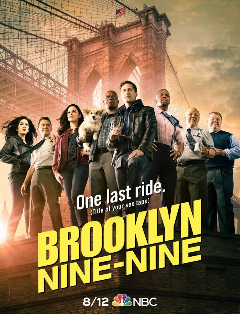 brooklyn nine nine posters