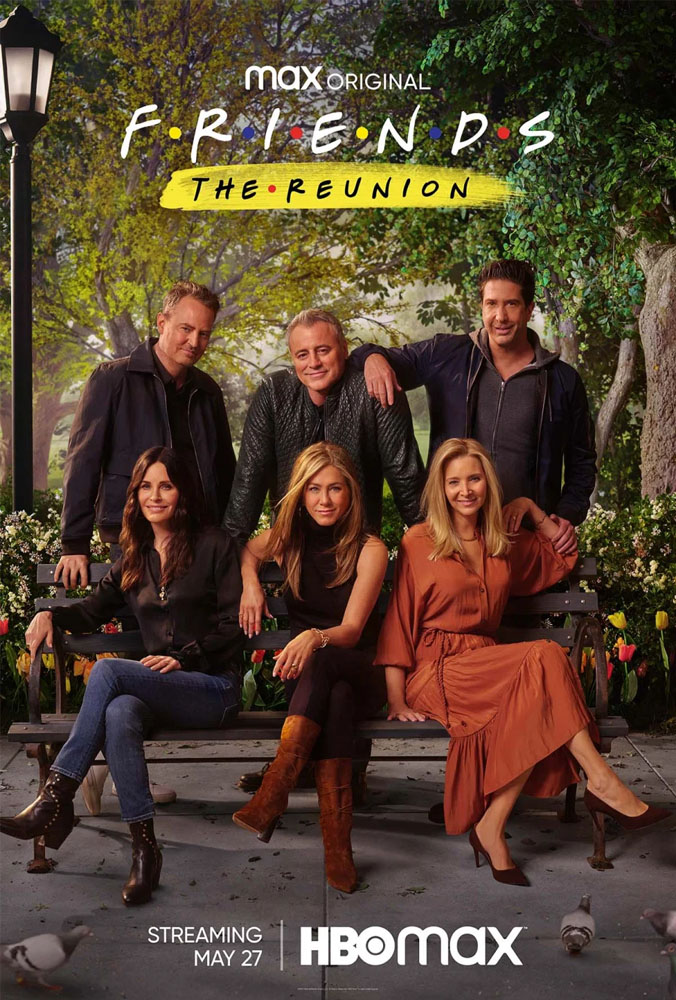 friends reunion posters