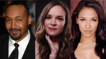 Jesse L. Martin, Danielle Panabaker e Candice Patton