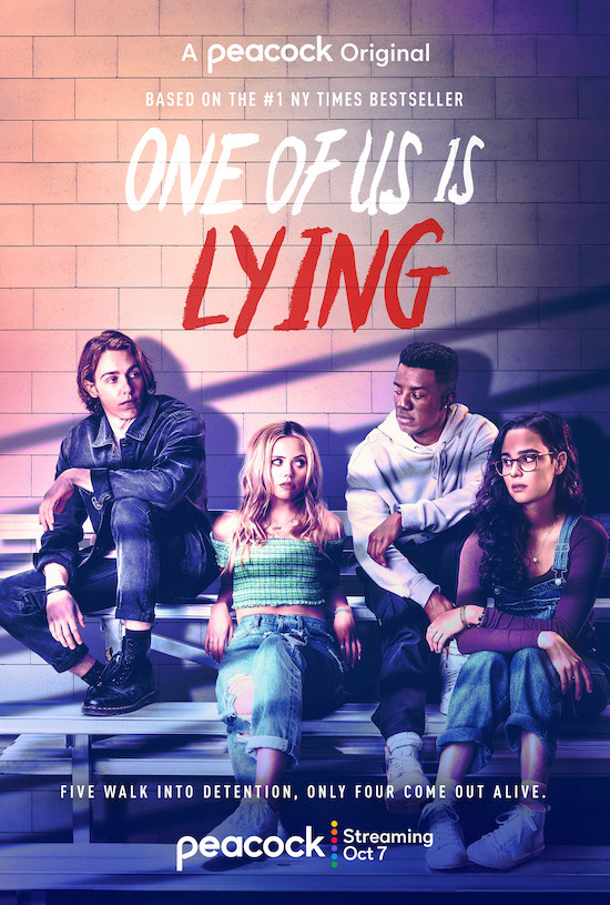 One of us is lying posters