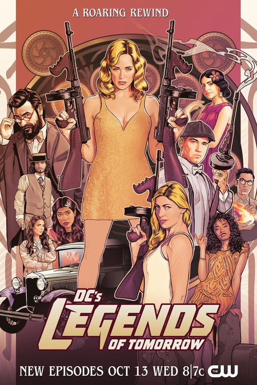 Legends of tomorrow 7 posters