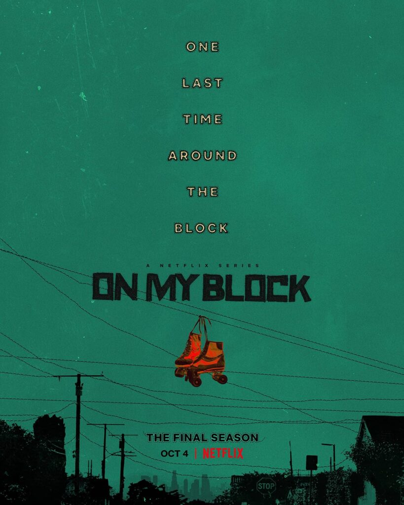 on my block posters
